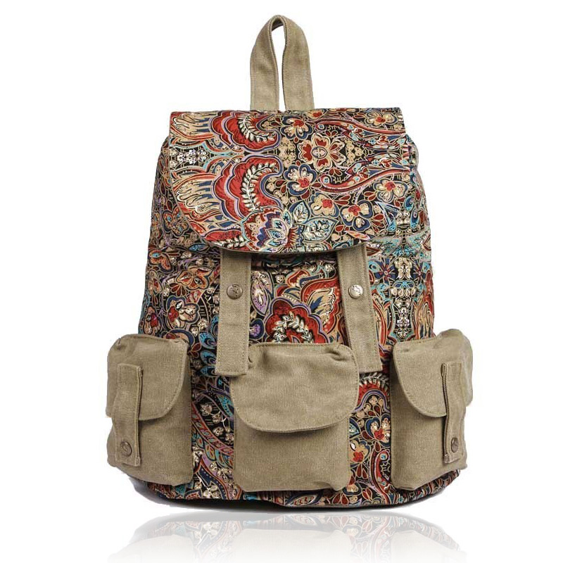 Ethnic Backpack 108